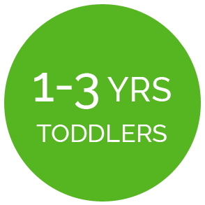 1 to 3 Year Toddlers