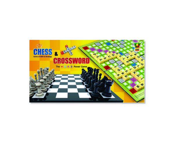 Board Games A 054 CROSSWORD CHESS YS